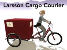 Urban Delivery Three-Wheel Bicycle - GTFO! Ready