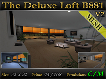 INTRO PRICE - The Deluxe Loft B881 v2 *Fully Furnished* Mesh Skybox
