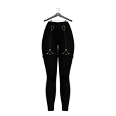Little Fox - Harness leggings // black