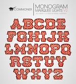 [Commoner] Monogram Marquee Light V2 / A