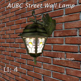 AUBC Street Wall Lamp /boxed