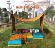 *UI* India Sofa Orange v