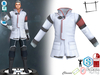 Dae Obj FBX Sci-fi Scientist Doctor Officer Uniform Jacket Slink Male, Belleza Jake, Signature Gianni