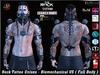 Rock Tattoo Unisex -  Biomechanical V5 ( Full Body )