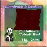 G&G ~ BLANKET Christmas Red