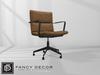 Fancy Decor: Henrik Computer Chair (brown leather)
