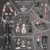 21. .{PSYCHO:Byts}. Zhora Project - Robotical Arms RARE