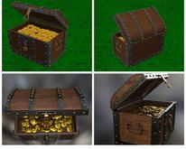 *Seek* Chest coins pirate