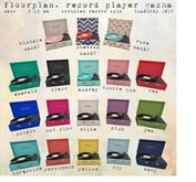 floorplan. record player / pea