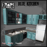 Frop! Blue Kitchen