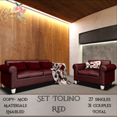 Bloom! - Set Tolino Red (wear me to Unpack)