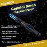 Sonic Screwdriver, Capaldi