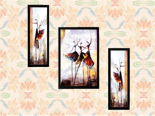 Group Wall Art Alpha Decal, Ballet Dance Pictures, Home Decor Hanging, Copy-Mod, 1 Prim, image 2 sides, Easy Edit Resize