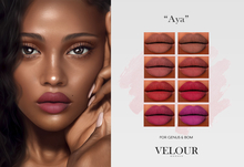 VELOUR: Aya Lipstick for Genus & BOM