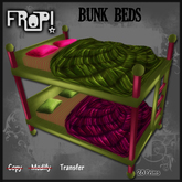 Frop! Silly Gurly Bunk Beds - Pink/Green