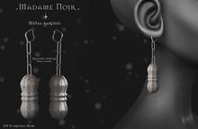 Metal Earings by Madame Noir