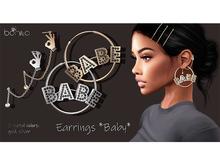 *Bonita* earrings ~baby~