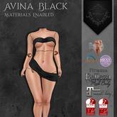 **Mistique** Avina Black (wear me and click to unpack)