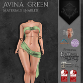 **Mistique** Avina Green (wear me and click to unpack)