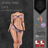 **Mistique** Avina Pink Lace (wear me and click to unpack)