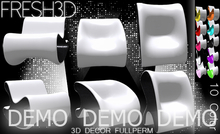 Fresh3D Modern Loop Chair FullPerm DEMO