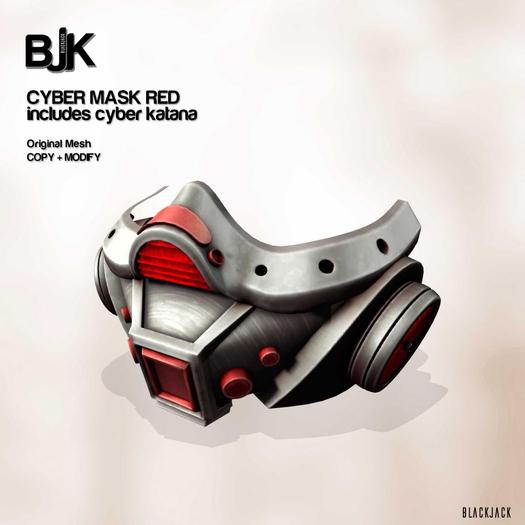 BJK Cybermask RED