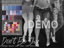 *B.D.R.* Don't Be Shy -Jeans & Panties- DEMO
