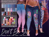 *B.D.R.* Don't Be Shy -Jeans & Panties-