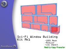 [MB3] Sci-Fi Window Building Kit Mk1