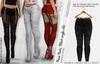 NOVA BLACK FEMALE PANTS - MESH - Maitreya Lara, Belleza Freya, Legacy - FashionNatic