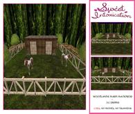 ::Sweet Intoxication:: Woodlands Barn Backdrop