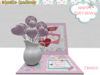 BMC659 -PERFECT BIRTHDAY GIFT - HAPPY BIRTHDAY PLAQUE CARD & A JUG OF LOLLIES.