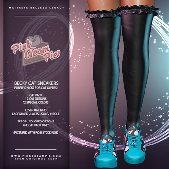 !PCP :: Becky Sneakers [Cat Pack]