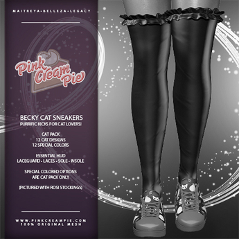 !PCP :: Becky Sneakers [Cat Pack DEMO]