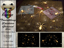 [PR] Twinkling Spiders Ground - Gold (Boxed)