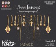 Kibitz - Anna earrings - silver