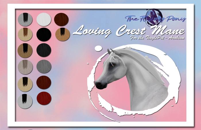.:[TFP]:. [TEEGLEPETARAB] Love Crest Mane