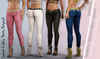 SARAH FEMALE RIPPED PANTS FATPACK- MESH - Maitreya Lara, Belleza Freya, Legacy - FashionNatic