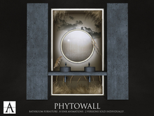 Architect. Phytowall Bathroom Furniture (Dried)