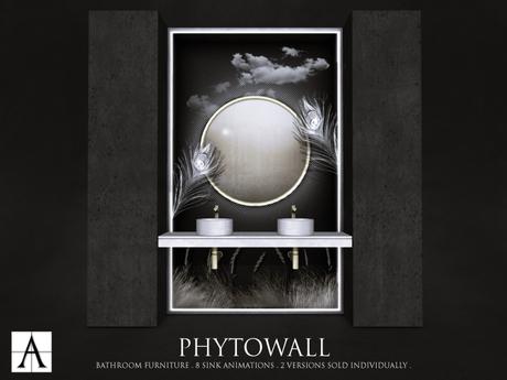 Architect. Phytowall Bathroom Furniture (Full Moon)