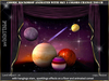 irrISIStible :  COSMIC BACKDROP SKY TOUCH CHANGER 3 TEXTURES