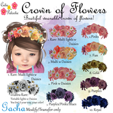 ::CP:: 1. Crown of Flowers (Multi lights) w Daisies