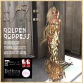 ::AU:: GOLDEN GODDESS GOWN