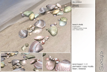 Sway's [Shell] Beach Shells decoration