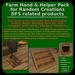 Random Creations Farm Hand & Helper Pack