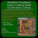 Random Creations Fabric Crafting Shelf for DFS fabric crafting