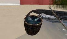 - L I C K - Fishing bucket with fish