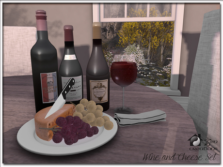 Wine & Cheese Set