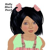Holly Black Pearl (Adult & Child)
