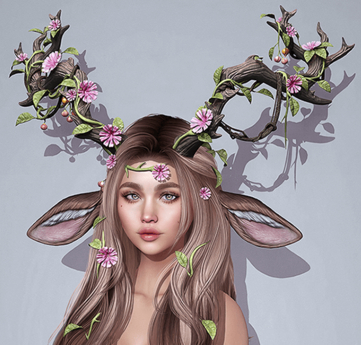 Nature's Adornments Kit by Sweet Thing. Set for fantasy RP, fae, fairy, nymph, eladrin, dryad, druid, elf princess..